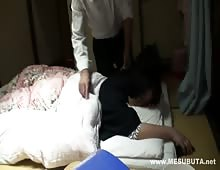 Japanese Girl Fucked And Creampie While Sleeping