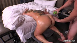Soccer Mom With A Gigantic Butt And Big Natural Tits Gets Fucked In Her Ass
