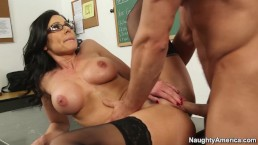 Professor Kendra Lust Wearing Glasses Hard Fuck – Naughty America – Find Your Fantasy
